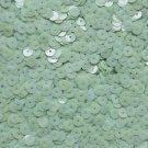 6mm Sequins Mint Green Opaque. Made in USA