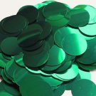 30mm Sequins Green Metallic. Made in USA
