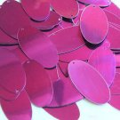 "Oval Sequin 1.5"" Bright Purple Metallic"