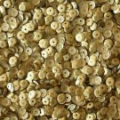 5mm Cup Sequins Gold Matte Silk Frost. Made in USA