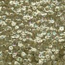 6mm Cup Sequins Gold Prism Metallic. Made in USA