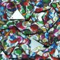 "Long Diamond Sequin 1.75"" Multicolor Sequined Mix Pattern Metallic"