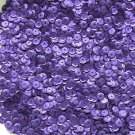 6mm Cup Sequins Purple Matte Silk Frost. Made in USA