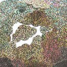 "Gold Glitter Hologram Cloud 1.5"" Couture Sequin Paillettes. Made in USA."