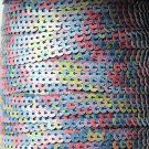 Sequin Stitched Trim 4mm ~ Multi Color Rich Fun Blend ~ Made in USA