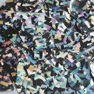 Teardrop Sequin Silver Northern Lights Reflective 1.5 inch Couture Paillettes