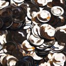 20mm Cup Sequins Bronze Brown Metallic. Made in USA