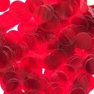 20mm Sequins Ruby Red Transparent See-Thru. Made in USA
