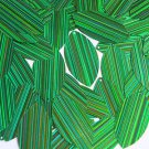 Green Navette Leaf Sequins 1.5 inch City Lights Reflective Couture Paillettes
