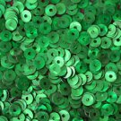 4mm Flat SEQUIN PAILLETTES ~ GREEN PRISM MULTI Reflective METALLIC ~Made in USA
