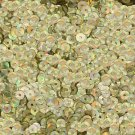 5mm Flat SEQUIN PAILLETTES ~ Gold PRISM MULTI Reflective METALLIC ~Made in USA