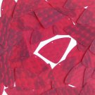 3D Red Sequin Fishscale Fin 1.5 inch Dimensional Reflector Paillettes