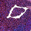 """Violet Purple Glitter Hologram Cloud 1.5"""" Couture Sequin Paillettes. Made in USA"""