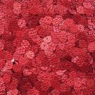 Red SEQUINS 8mm Flat Loose PAILLETTES ~ RED SNAKE SKIN LIZARD effect ~ USA