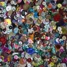 SEQUIN MIX ~ Hologram Metallic Rainbow Opaque Velvet ~ 1,000 pcs ~  Made in USA