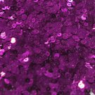 3mm Flat SEQUIN PAILLETTES ~ PURPLE Metallic ~ Made in USA.