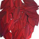 Red Wine Sequin Diamond 1.75 inch City Lights Reflective Couture Lge Paillettes