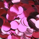 30mm Sequins Hot Pink Fluorescent Metallic. Made in USA