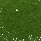 6mm Flat Loose Sequin Paillette Deep Moss Green Opaque Glossy Made in USA