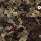 6mm Flat Loose SEQUINS PAILLETTES ~ Metallic Deep Chocolate BROWN