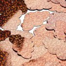 """Copper Glitter Hologram Cloud 1.5"""" Couture Sequin Paillettes. Made in USA."""