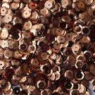 6mm Cup SEQUIN FACET PAILLETTES ~ COPPER Metallic Premium ~ Made in USA