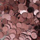 10mm Flat Sequin Loose Paillettes~ PINK Metallic ~ Round Disc ~ Made in USA.