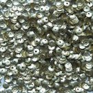 4mm Cup SEQUIN FACET PAILLETTES ~ Light Gold Matte Silk Frost Metallic