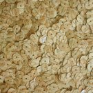 5mm Flat SEQUIN Loose PAILLETTES ~ Birch Wood Grain Effect ~ Made in USA