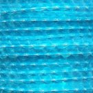 Sequin Trim 10mm Iron On Light Aqua Blue Transparent See-Thru. Made in USA
