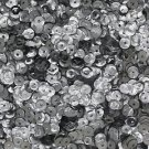 5mm Cup SEQUIN FACET Loose PAILLETTES ~ Aluminum Embossed Metal ~ Made in USA