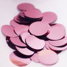30mm ROUND SEQUIN PAILLETTES ~  LILAC LAVENDER Metallic ~ Flat Disc Made in USA