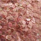 6mm Flat SEQUIN PAILLETTES ~ PINK Opaque RAINBOW IRIS IRIDESCENT ~ Made in USA