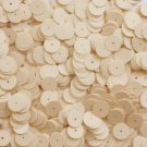10mm Flat SEQUIN Loose PAILLETTES ~ Opaque PEACH PINK ~ Round Disc ~ Made in USA