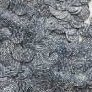 10mm Flat SEQUIN PAILLETTES ~ BLUE JEANS DENIM effect~ Round Disc ~ Made in USA.