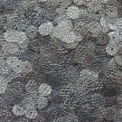 Pewter SEQUINS 8mm Flat Loose PAILLETTES ~ Antique Silver SNAKESKIN effect ~ USA