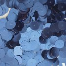 10mm Flat SEQUIN PAILLETTES ~ Light BLUE Metallic ~ Round Disc ~ Made in USA.