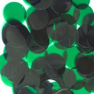Sequin Seconds Clearance 30mm Round Paillettes Dark Green Transparent pk/100