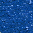6mm Cup Sequins Royal Blue Opaque. Made in USA