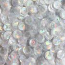 8mm Cup Sequins Crystal Hologram Glitter Sparkle. Made in USA