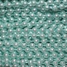 Turquoise Pearl Beads 2.5mm Molded on Thread Fused to string 120 inches (10')