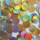 Sequin Round 18mm Gold Lazersheen Reflective Metallic. Made in USA