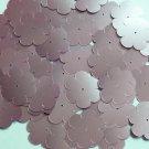 "Sequin Flower 1"" / 25mm Pink Satin Metallic. Made in USA"