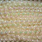 Crystal Iris Beads 2.5mm Molded on Thread Fused to string 120 inches (10')