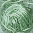 Mint Green Satin Rattail Cord Made in the USA 10 yard pack