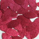 "Navette Leaf Sequin 1.5"" Deep Red Pink Metallic Sparkle Glitter Tex Paillettes"
