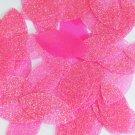 "Navette Leaf Sequin 1.5"" Pink Neon Fluorescent Sparkle Glitter Texture Paillette"