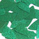"Fishscale Fin Sequin 1.5"" Green Metallic Sparkle Glitter Texture Paillettes"