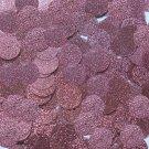 Round Sequin 15mm Rose Pink Metallic Sparkle Glitter Texture Couture Paillettes