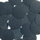 Round Sequin 40mm Midnight Blue Metallic Sparkle Glitter Texture Paillettes
